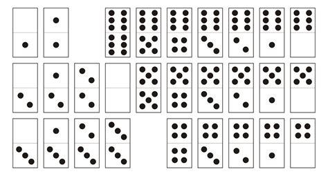 Domino à imprimer (gratuit)