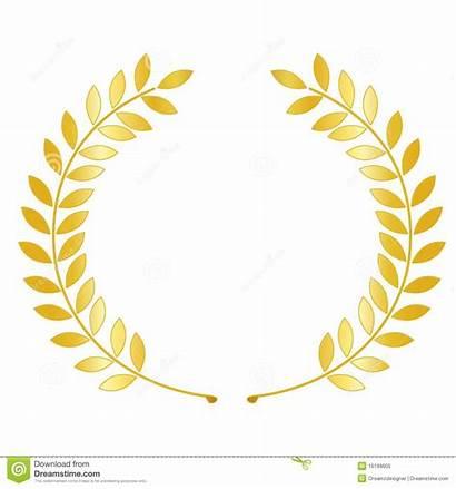 Wreath Laurel Lauwerkrans Guirlande Laurier Gouden Dell