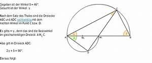 Kreis Winkel Berechnen : satz des thales bettermarks ~ Themetempest.com Abrechnung
