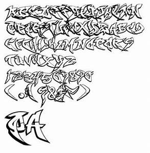 Cool Graffiti Alphabet Letters A-Z (4) | Graffiti ...