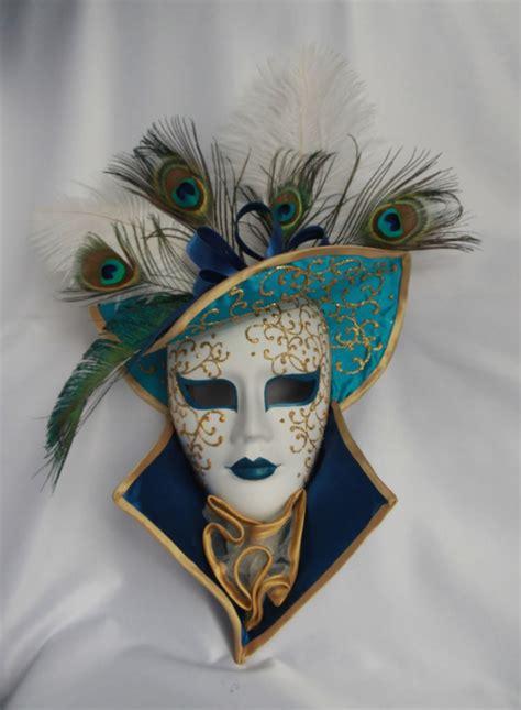 Zamaskowana: Maska wenecka Turquoise hat