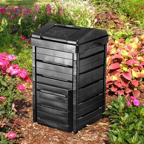 Garden Gourmet 82 Gallon Recycled Plastic Compost Bin