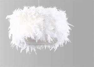Lustre En Plume : lustre en plume lustre blanc marchesurmesyeux ~ Teatrodelosmanantiales.com Idées de Décoration
