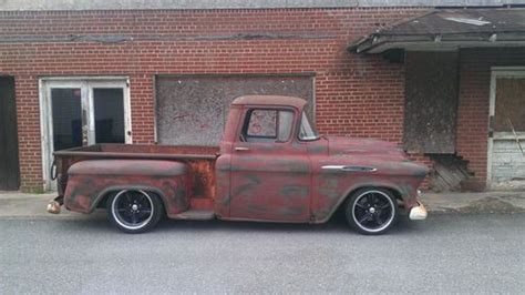 buy   chevy truck   tbi resto mod rat rod