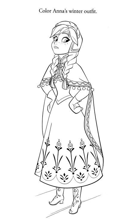 frozen ana disney coloring page disney coloring pages