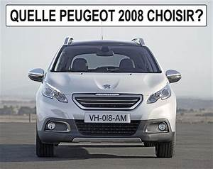 Dimension 2008 Peugeot : quelle peugeot 2008 choisir ~ Maxctalentgroup.com Avis de Voitures