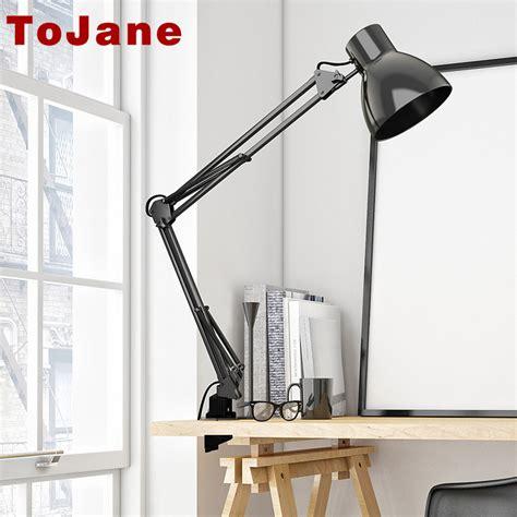 bureau led tojane tg801 swing arm desk l led table l