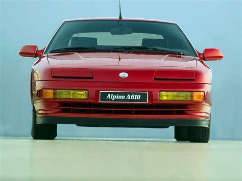 alpine a610 renault alpine a610 specs 1991 1992 1993 1994