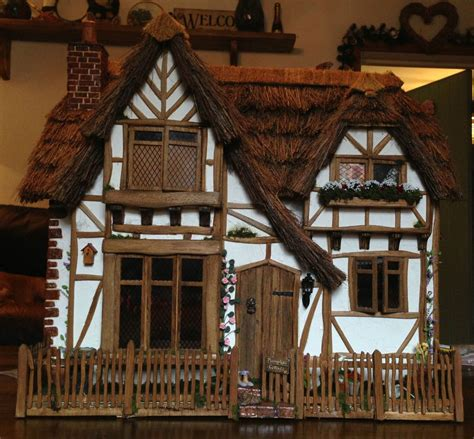 Cottage Dolls House 1 12th Scale Dolls House Welcome To Pumpkin Cottage
