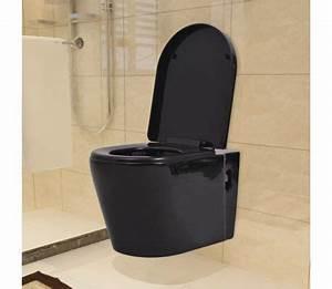 Toilette Schwarz Ablagerung : vidaxl wandmontierte toilette keramik schwarz zum schn ppchenpreis ~ Eleganceandgraceweddings.com Haus und Dekorationen