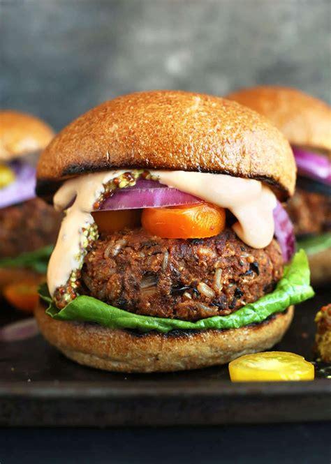 healthy burger recipes  summer gluten freevegan
