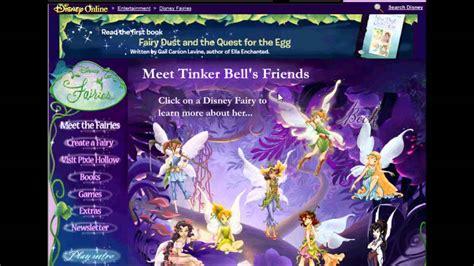 original disney fairies site youtube