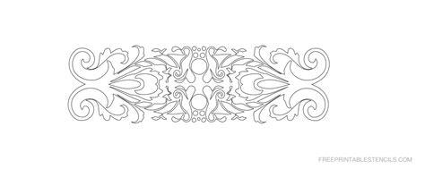 printable decorative border stencils  printable stencils