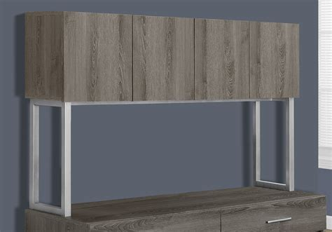 credenza office office cabinet 48 quot l taupe storage credenza office