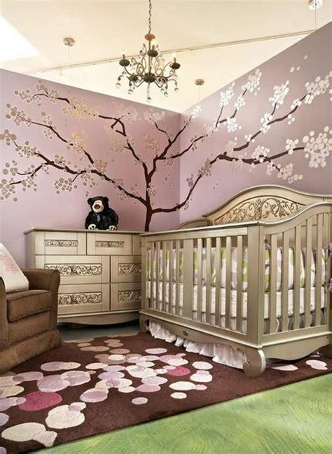 la peinture chambre bébé 70 idées sympas dessin mural