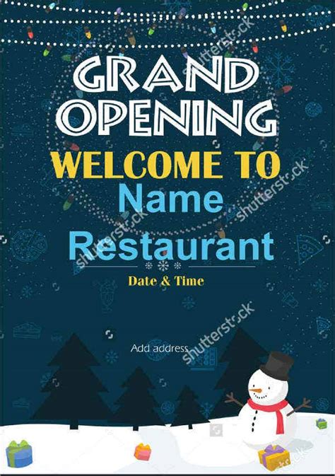 grand opening invitation banners psd ai word
