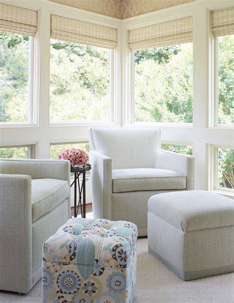 blinds for sunrooms gallery window treatments for sunrooms transitional living room