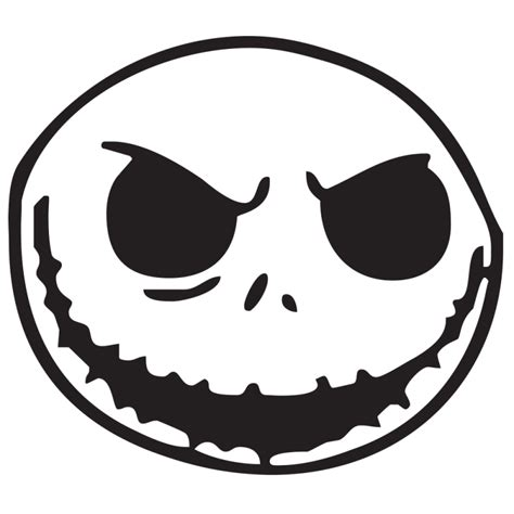 Disney Pumpkin Carving Patterns Mickey Mouse by Jack Skellington Die Cut Vinyl Decal Pv585 Cliparts Co