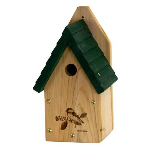 woodlink garden wren and chickadee bird house gswch the