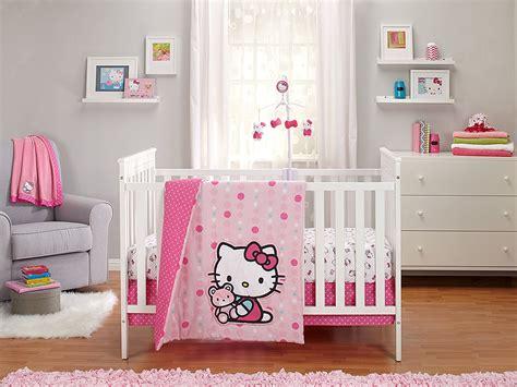 hello kitty crib set hello kitty as button 3 crib bedding set