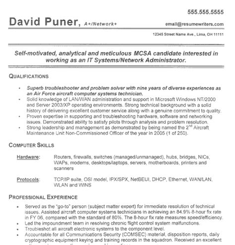 Civilian Resume Format by Resume Format Resume Template To Civilian
