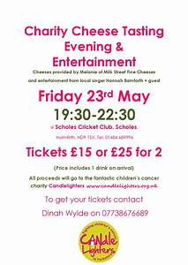 Fundraising Night for Candlelighters- Children's Cancer ...