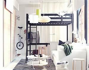 Petit Lit 2 Places : d co petit salon 22 id es de meubles couleurs et accents ~ Teatrodelosmanantiales.com Idées de Décoration