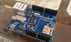 W5100 Ethernet Shield   1 Qty