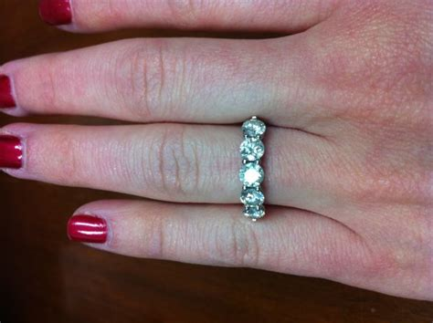 five engagement ring what should i get as a wedding band
