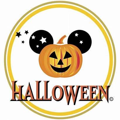 Mickey Halloween Disney Vector Mouse Happy Clip