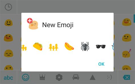 android emoji update swiftkey updated with new emoji for android 6 0 1
