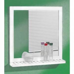 miroir salle de bain avec tablette et eclairage fashion With miroir de salle de bain avec tablette et éclairage