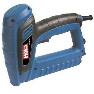 Electric Staple Guns For Upholstery by Hilka Electric 2 In 1 Upholstery Staple Nail Gun Tacker