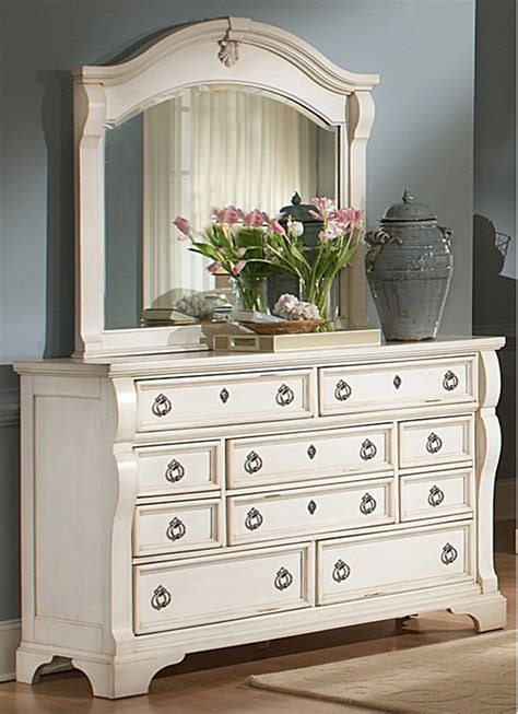 dressers with mirrors white antique dresser with mirror doherty house how to