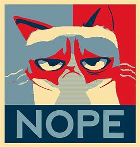 Grumpy Cat Nope