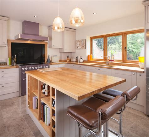 kitchen island ideas for solid wood kitchens solid wood
