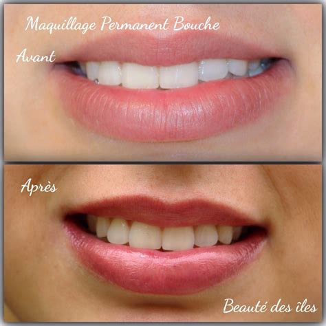 Maquillage Permanent De La Bouche  Beauté Des îles