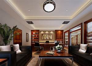 Modern China CEO office interior design   3D house, Free ...