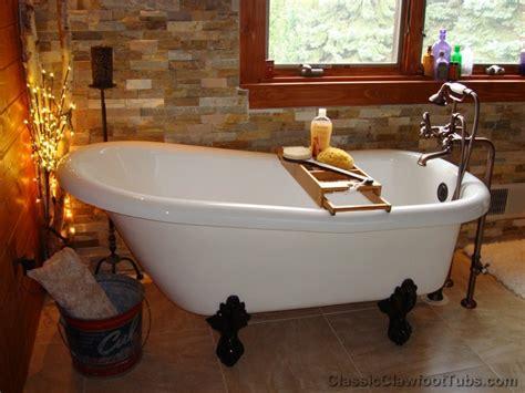 acrylic slipper clawfoot tub classic clawfoot tub