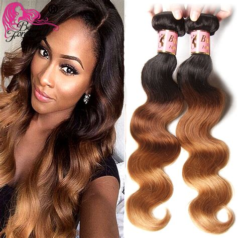 Ombre Weave Hairstyles by Aliexpress Buy Ombre Human Hair Weave Malaysian