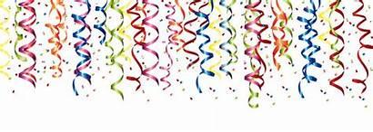 Clipart Fasching Luftschlangen Celebrating Anniversary 1st Header