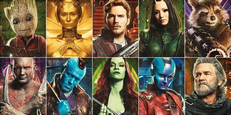 guardians vol  performances ranked screenrant