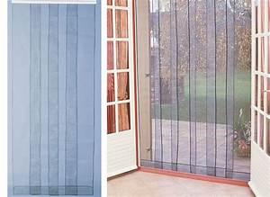 Rideau Baie Vitree : rideau de porte moustiquaire arles jardideco ~ Premium-room.com Idées de Décoration