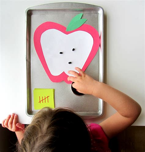 apple crafts amp activities for preschool no time for 494 | apple seed math for preschool