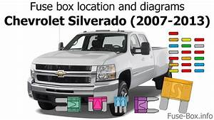 Fuse Box Location And Diagrams  Chevrolet Silverado  2007