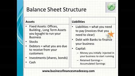 understand a balance sheet mp4 youtube