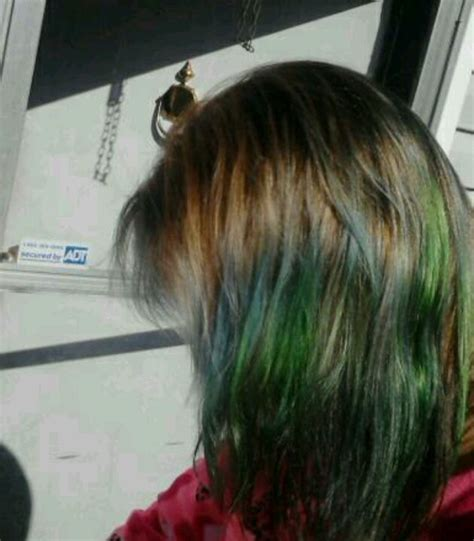 Top 25 Ideas About Kool Aid Dip Dyed Hair On Pinterest