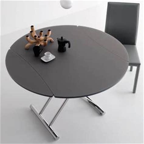 meuble cuisine alinea table basse transformable en table ronde par cuir design