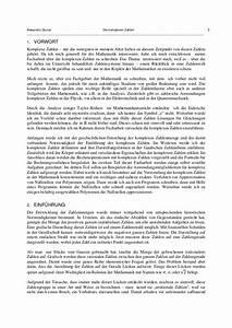 Facharbeit Einverständniserklärung : die komplexen zahlen ~ Themetempest.com Abrechnung