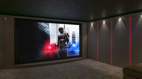 garage conversion home cinema in finite